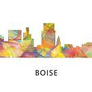 Boise, Idaho-Skyline WB1 von Marlene Watson