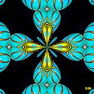 Turquoise Hearts by Diane Johnson-Mosley