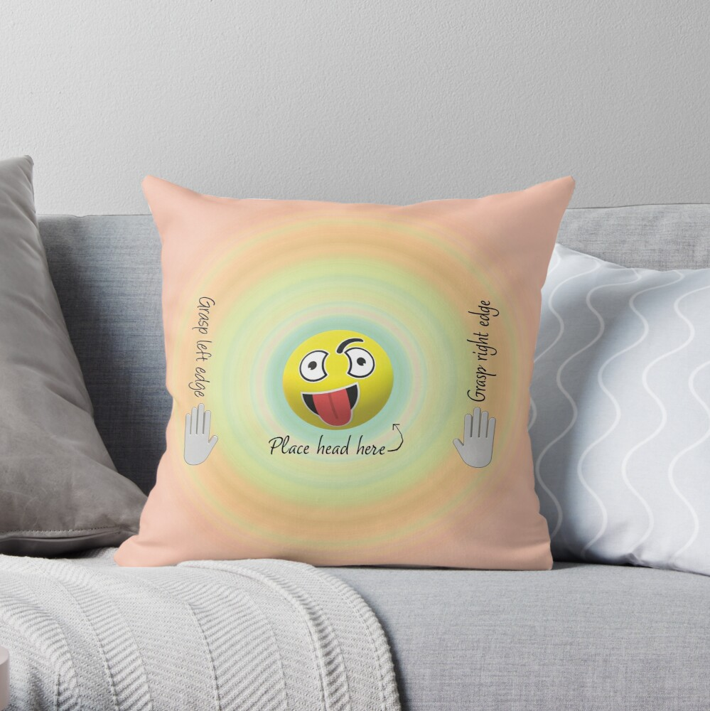 Screaming into Pillows. Throw Pillow