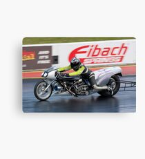 Dragster motorcycle Canvas Print