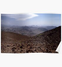 Mountain tan Poster