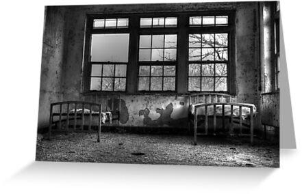 Roommates, Abandoned Hospital New England by kailani carlson