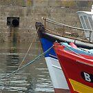 Brest harbour. by Jean-Luc Rollier