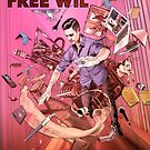 Wil Anderson - Free Wil (poster) by James Fosdike