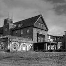 Patient Drop Off, Abandoned Seaside Sanatorium Connecticut, Long Island Sound by kailani carlson