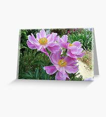 Pink For Cancer Awareness Greeting Card