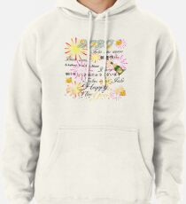 Happy new year 2020 Emoji JoyPixels 8 languages Pullover Hoodie