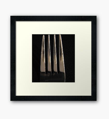 Kitchen Abstract Framed Print