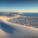 White Sands NM at Sunrise by Ted Lansing
