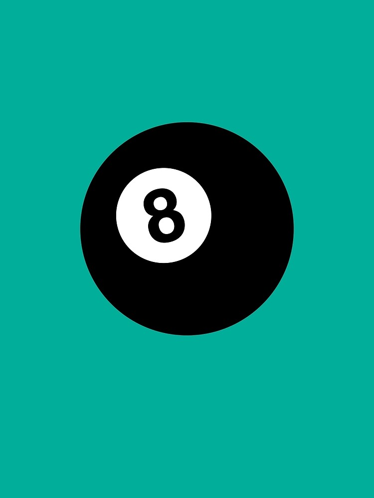 Billiard 8 Ball by Thoth-Adan