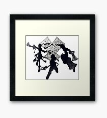 Keyblade War Framed Print