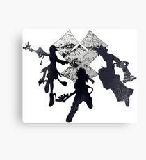 Keyblade War Metal Print