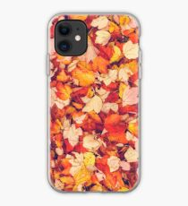 Scarlet Leaves  iPhone Case