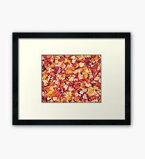 Scarlet Leaves  Framed Print