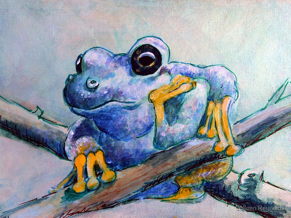 Frog Chillin by Colleen Reynolds