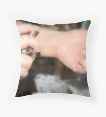 'Scent' Throw Pillow