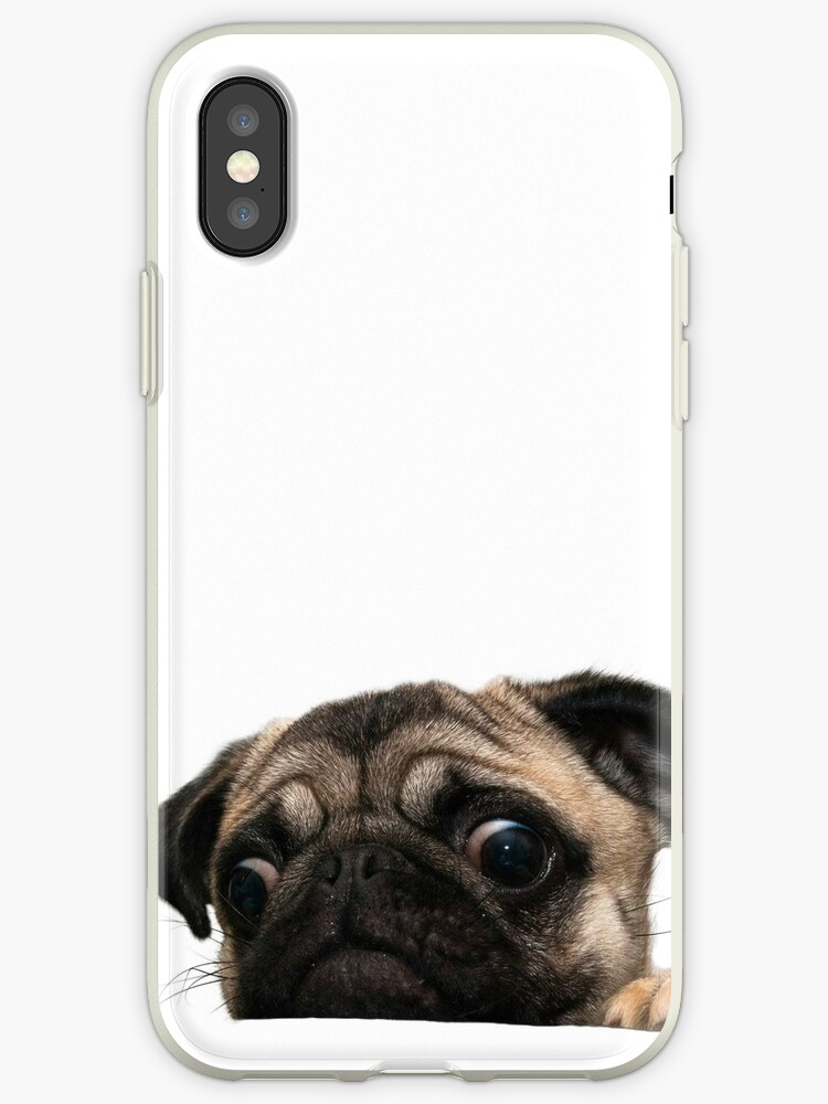 pug iphone xs case