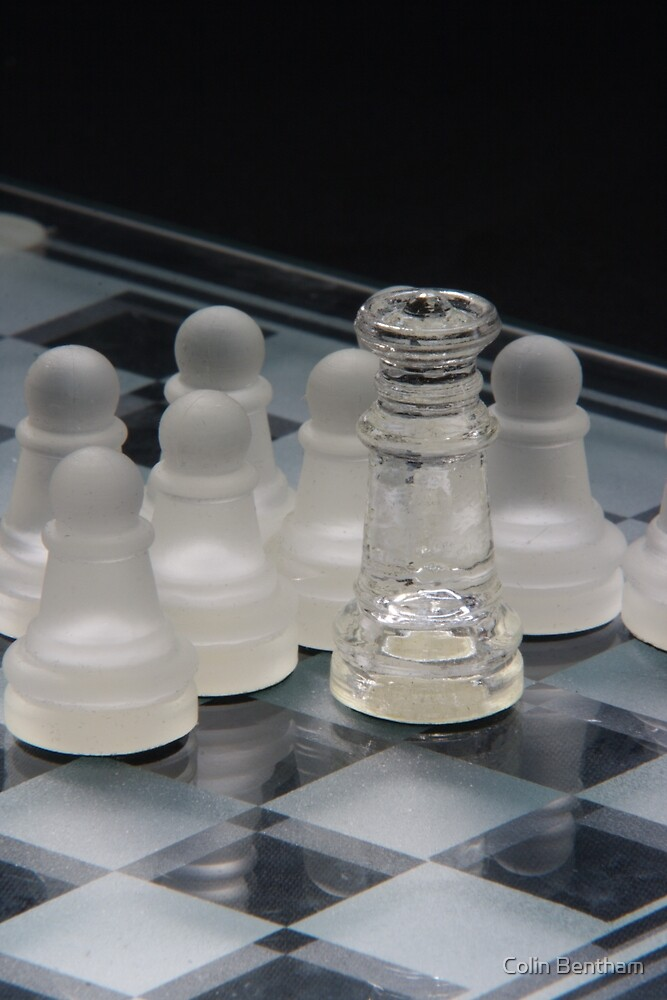 Chess Queen Following by Colin Bentham