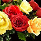 Roses Just For You by Monica Engeler