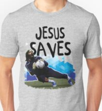 Jesus Saves ( SOCCER ) Unisex T-Shirt