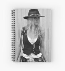 BAD GIRL Spiral Notebook