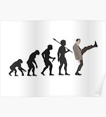 Evolution of Bean Poster