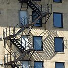 Windows & Stairs by WolfPause