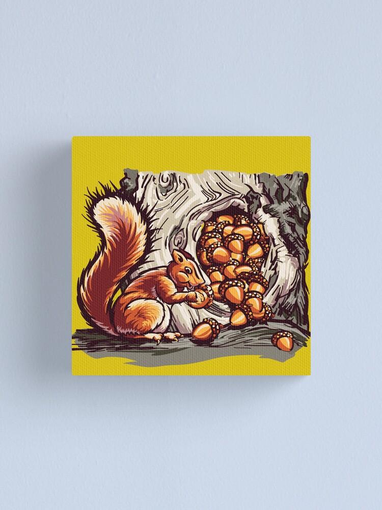 Alternate view of Rich Squirrel  Canvas Print