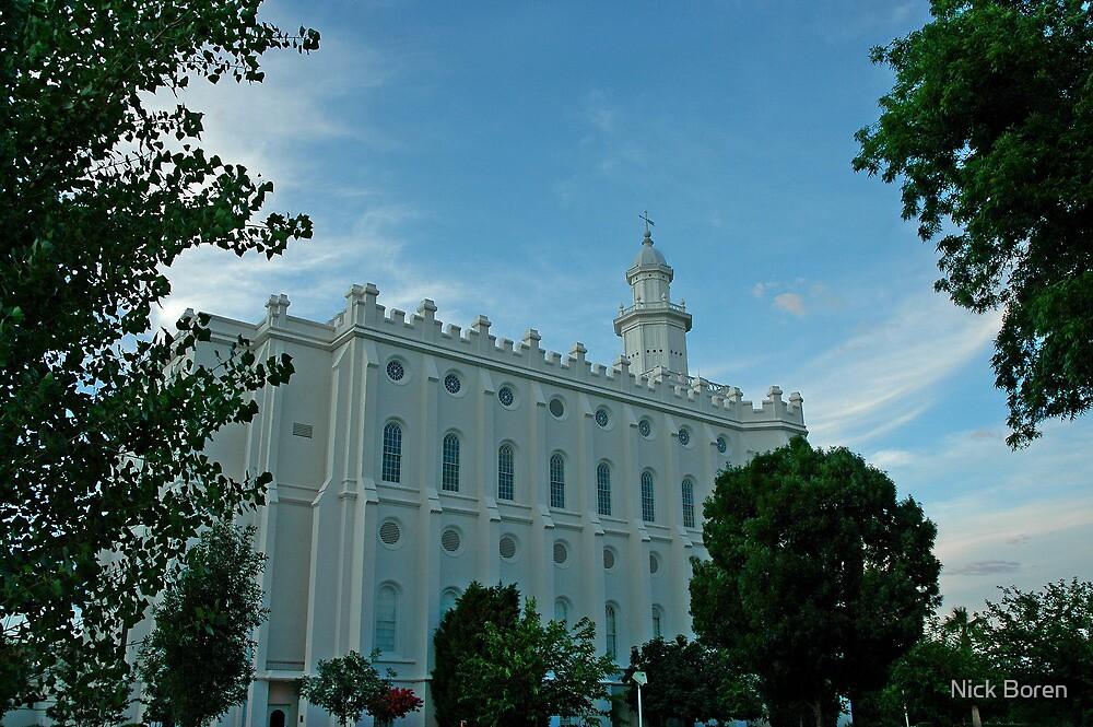 St. George Utah LDS Temple by Nick Boren