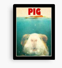 Little Sea Pig Canvas Print