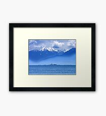 Race Rocks Framed Print