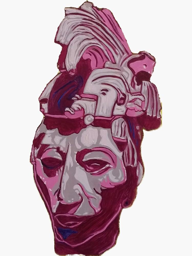 Lord Pakal Bust by rseebach