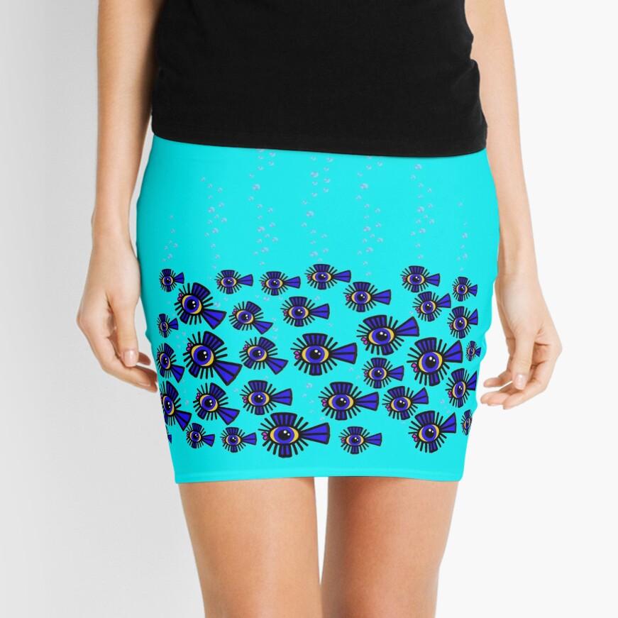 CORAL Mini Pencil Skirt Mini Skirt