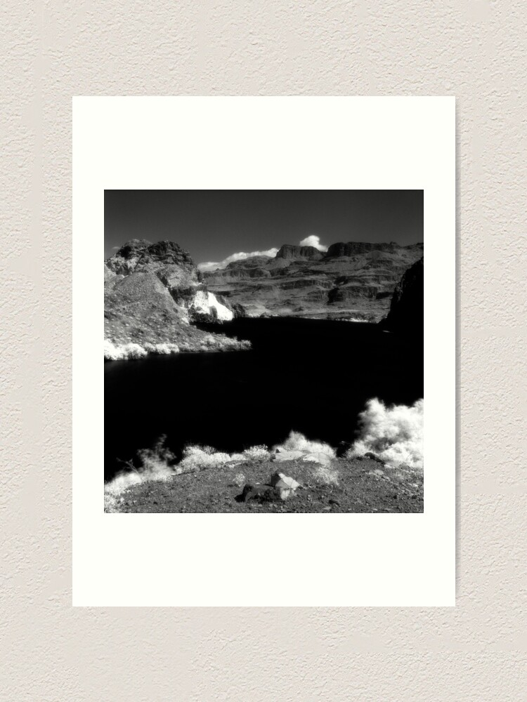 Alternate view of Black Canyon of the Colorado Art Print