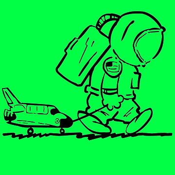 Rats! Space Shuttle Program Shirt by deomatis