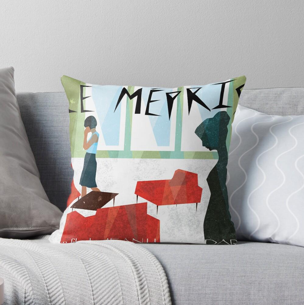 Le Mepris Throw Pillow