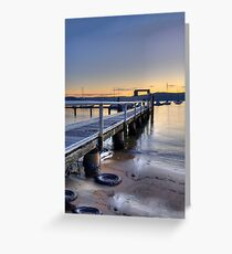 Perspective - (HDR Panorama) Paradise Beach, Sydney - The HDR Experience Greeting Card