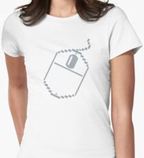 DIGITAL MOUSE Womens Fitted T-Shirt