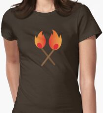 Two burning matches T-Shirt