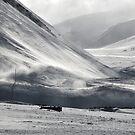 Katabatic winds from Longyear glacier by Algot Kristoffer Peterson