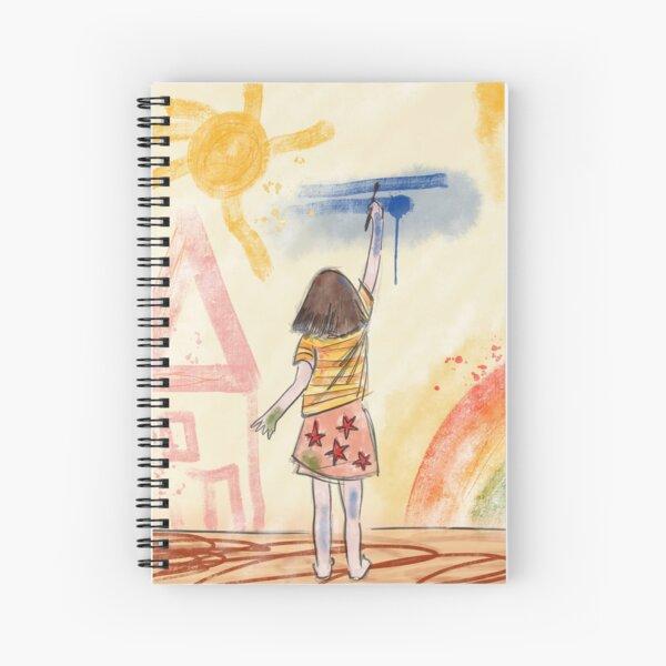 Be an artist Spiral Notebook