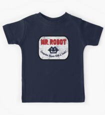 Mr Robot - Computer Repair With A Smile Kids Tee