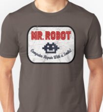 Mr Robot - Computer Repair With A Smile T-Shirt