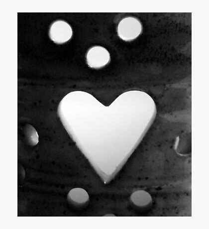 Candle Holder Cutouts Photographic Print