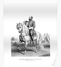 General James Garfield Poster