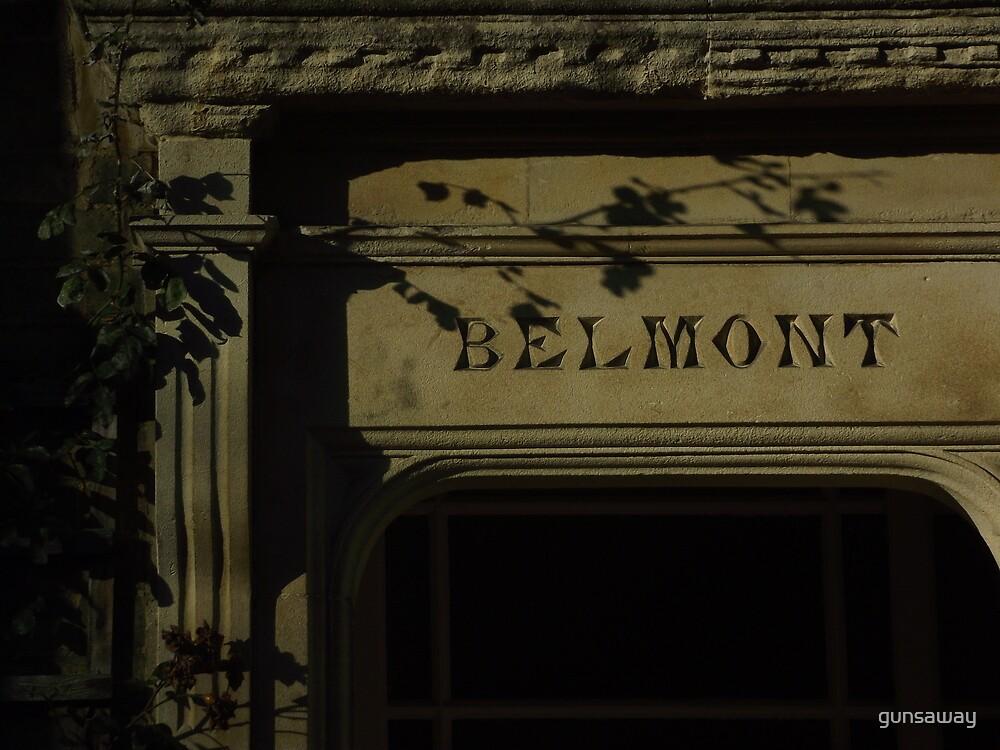Belmont by gunsaway