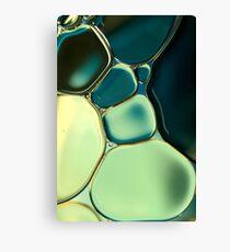 Bubble Blue Canvas Print