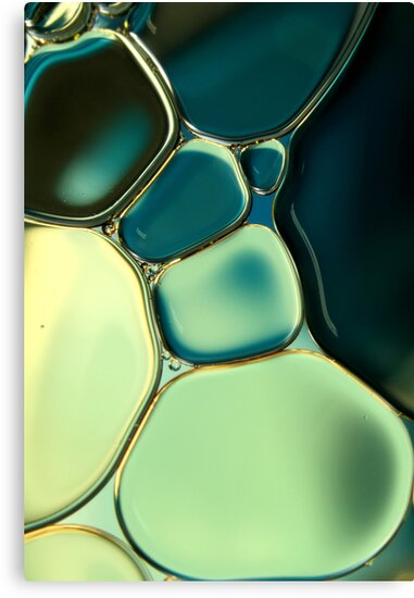 Bubble Blue by Sharon Johnstone