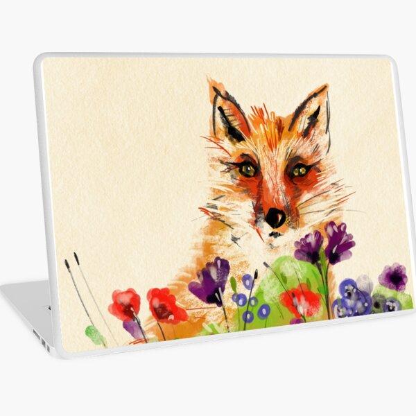A fox in my garden Laptop Skin