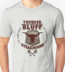 Donnerbluff Steakhouse! Slim Fit T-Shirt